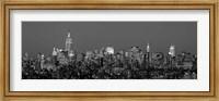 Manhattan Skyline (detail) Fine Art Print