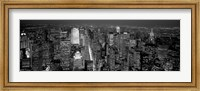 Midtown Manhattan at Night Fine Art Print