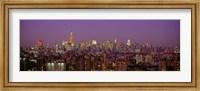 Manhattan at Night Fine Art Print