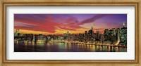 Sunset Over New York (detail) Fine Art Print