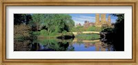 Bow Bridge and Central Park West View, NYC Fine Art Print