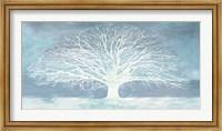 Aquamarine Tree Fine Art Print