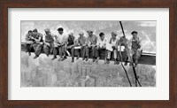 New York Construction Workers Lunching on a Crossbeam, 1932 (detail) Fine Art Print