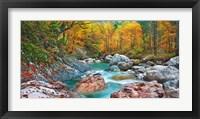 Mountain Brook and Rocks, Carinthia, Austria Fine Art Print