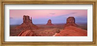 Mittens in Monument Valley, Arizona Fine Art Print