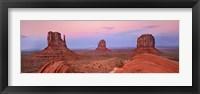 Mittens in Monument Valley, Arizona Fine Art Print