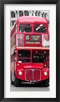 Double-Decker Bus, London Fine Art Print