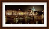 Rome at Night Fine Art Print