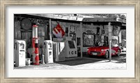Vintage Gas Station on Route 66 Fine Art Print