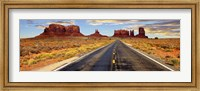 Road to Monument Valley, Arizona Fine Art Print