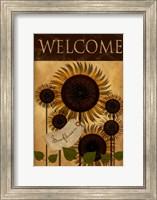 Sunflowers Welcome Fine Art Print