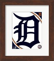 2016 Detroit Tigers Team Logo Fine Art Print