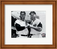 Mickey Mantle & Roger Maris Posed Fine Art Print