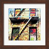 Colorful Life Brooklyn Fine Art Print