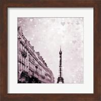 Paris Heart Storm 1 Fine Art Print