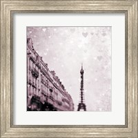 Paris Heart Storm 1 Fine Art Print