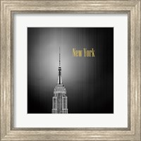 Golden Empire Spike Fine Art Print