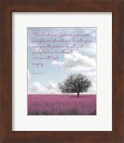 Zephaniah 3:17 The Lord Your God (Colored Landscape) Fine Art Print