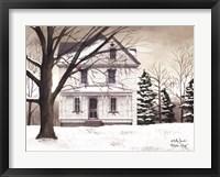 Winter Porch Fine Art Print