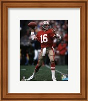 Joe Montana 1984 NFC Championship Game Action Fine Art Print