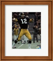Terry Bradshaw 1972 Action Fine Art Print