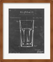 Barware Blueprint II Fine Art Print
