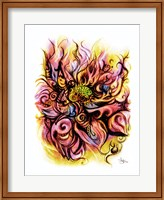 Lotus Fire Fine Art Print