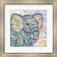 Sweet Baby Elephant I Fine Art Print
