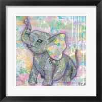 Sweet Baby Elephant II Fine Art Print