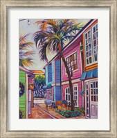Courtyard Palm Fine Art Print