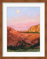 Desert Moon Fine Art Print