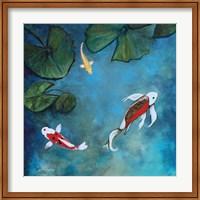 Enchanted Koi Trio Fine Art Print
