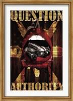 Question Authority Fine Art Print