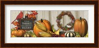 Give Thanks with a Grateful Heart Fine Art Print