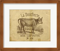 French Cow Fine Art Print
