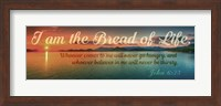 John 6:35 I am the Bread of Life (Sunset) Fine Art Print