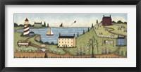 The Edge Of Town Fine Art Print