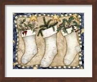 Christmas Stockings Fine Art Print