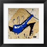 Blue Heel Fine Art Print