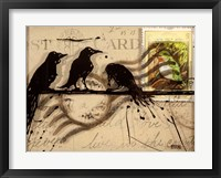 Curious Birds Fine Art Print