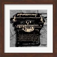 Movie Typewriter 1 Fine Art Print