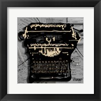 Movie Typewriter 1 Fine Art Print