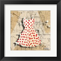 Red On White Fine Art Print