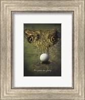 Crocodile Golf Fine Art Print