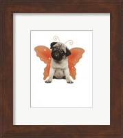 Wings - Pug Fine Art Print