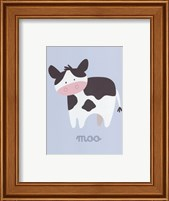 Barn Baby Moo Fine Art Print