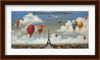 Ballooning Over Paris Fine Art Print