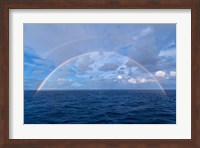 Double rainbow over the Atlantic Ocean Fine Art Print