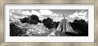 Ruins Of An Old Temple, Guatemala Fine Art Print