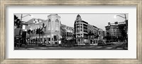 Traffic on the road, Rodeo Drive, Beverly Hills, Los Angeles County, California Fine Art Print